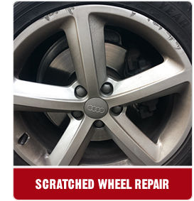 scratched wheel repair