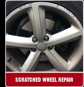 scratched wheel repair
