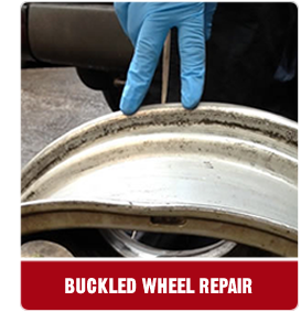 buckled wheel repair