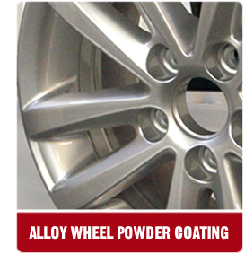 alloy wheel powder coating